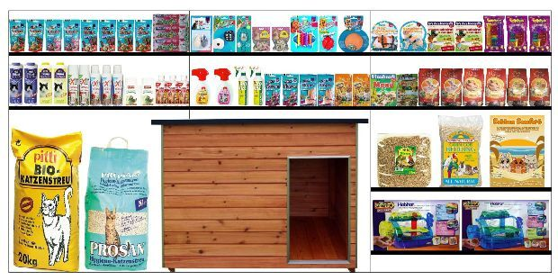 Sample planogam Petfood & Accessories